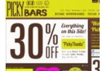 Pickybars Coupon Codes May 2021
