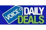 Voice Daily Deals Coupon Codes August 2019